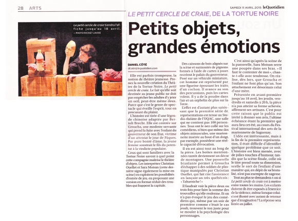 Article le Quotidien